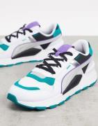 Puma – RS 2.0 – Sneaker in Weiß und Blau