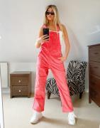 """adidas Originals – """"Comfy Cords"""" – Cordlatzhose in Rosa"""